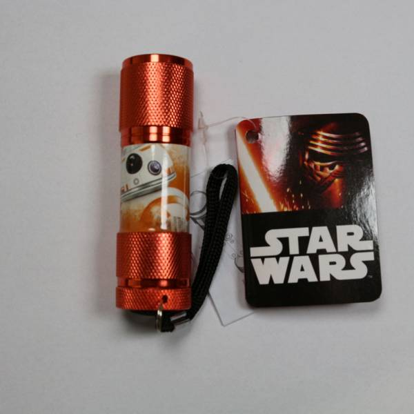 "Star Wars ""EP7 Droide BB-8"", LED Taschenlampe, rostrot"