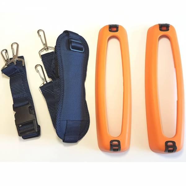 HT-Instruments SP-0500 Gummiholster mit integrierten Ösen und Tragegurt zum freihändigen Arbeiten