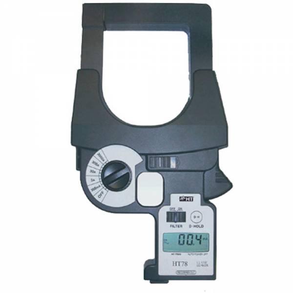 HT-Instruments HT78 Digitale Leckstromzange, TRMS, 0,1mA - 3000A AC mit Analogausgang