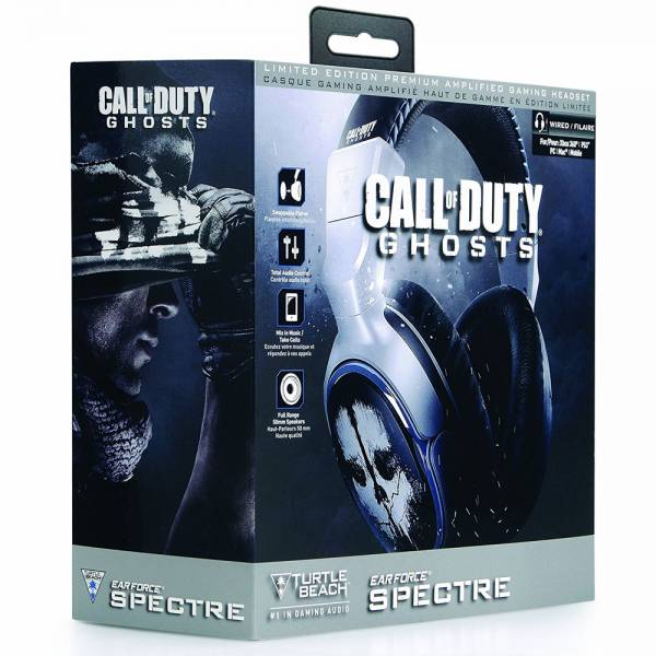 Gaming Headset Turtle Beach Ear Force Spectre COD Ghosts