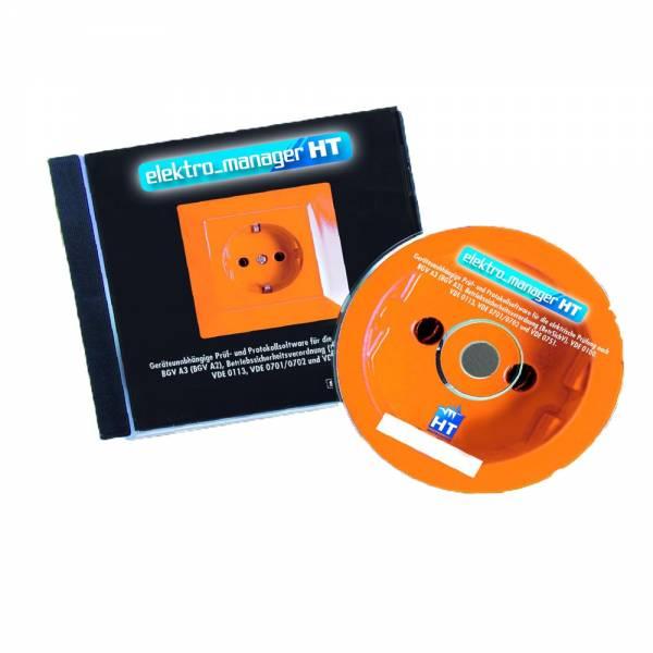 HT-Instruments ELEKTROmanager Universelle Hersteller- & Geräteunabhängige Prüf- & Protokollsoftware