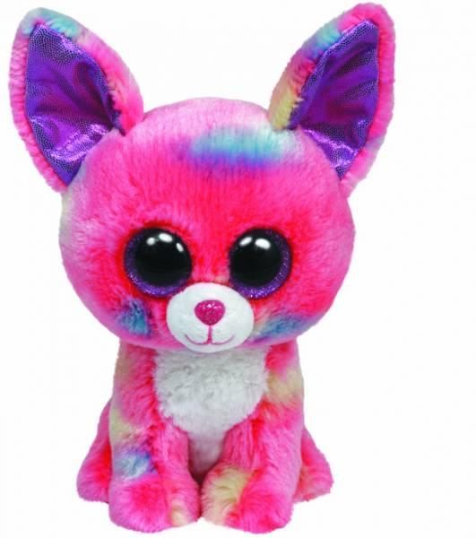 """Ty Beanie Boos, """"Cacun"""", Chihua, pink/blau,24cm"""