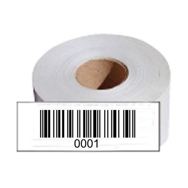 HT-Instruments Barcodeetiketten Barcode-Etiketten 1000 Stück auf Rolle