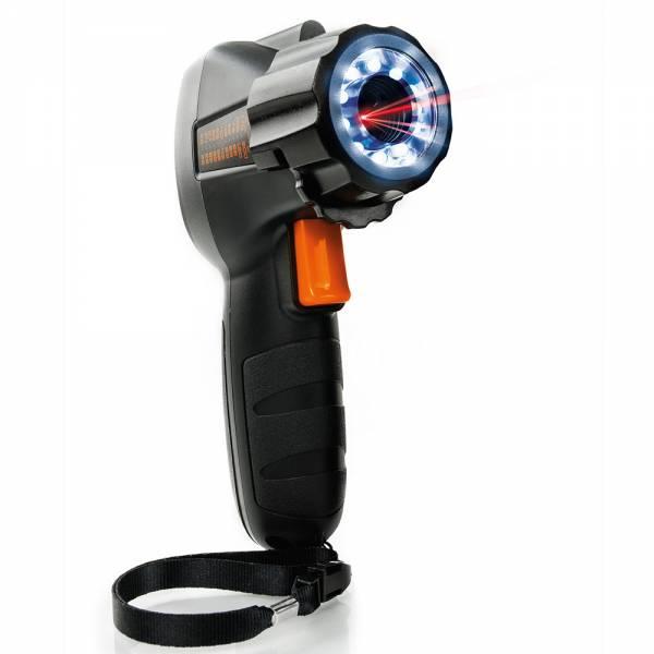 HT-Instruments HT3302 Infrarot-Thermometer mit Doppellaserpointer und UV-Licht (12:1)