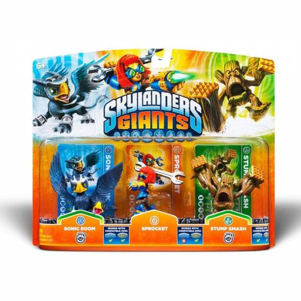 SKYLANDERS GIANTS Triple Pack C (3 Figuren)