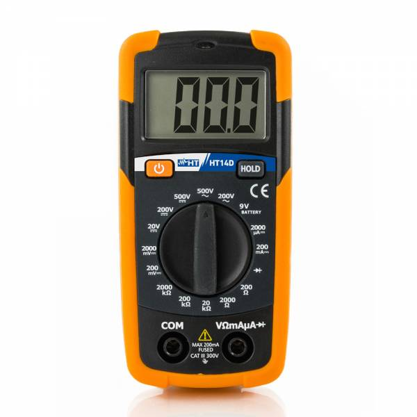 HT-Instruments HT14D Mini Multimeter