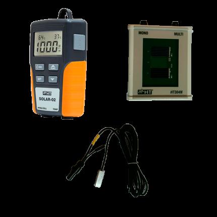 HT-Instruments KIT-PV-C Zubehörset bestehend aus Solar-02 + HT304N + PT300N