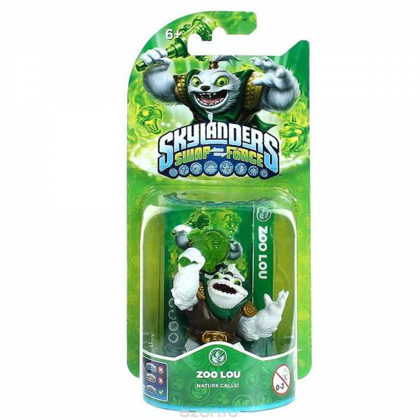 SKYLANDERS SWAP FORCE Figur - Zoo Lou