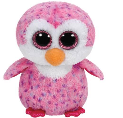 "Ty Beanie Boos ""Glider"", Pinguin pink, ca 24cm"