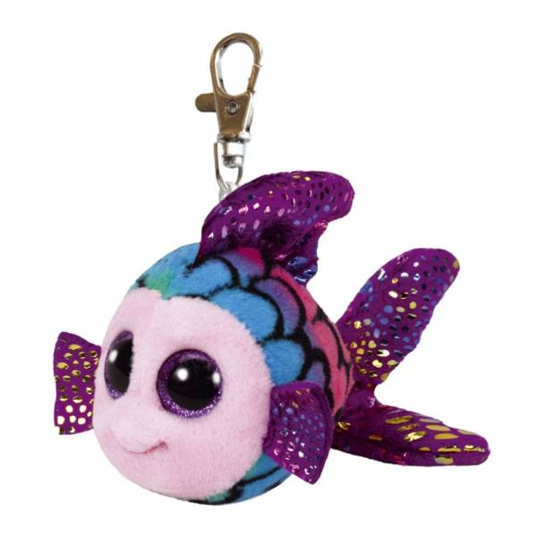 "Boo Clip/Anhänger - Fisch ""Flippy"" multicolor - ca 8,5 cm"