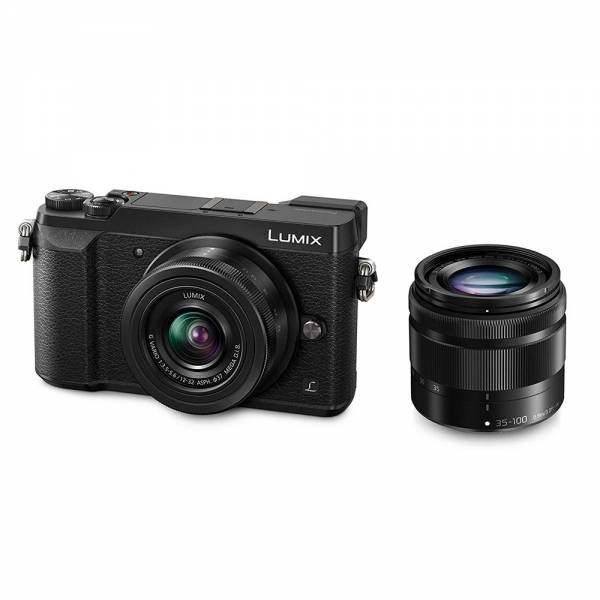Panasonic Lumix DMC-GX80 Kit 12-32mm + 35-100mm schwarz