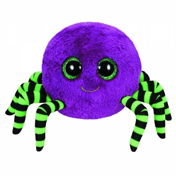 "Ty Beanie Boo's ""Crawly"", Halloween Spinne, limitiert, ca 15cm, violett"