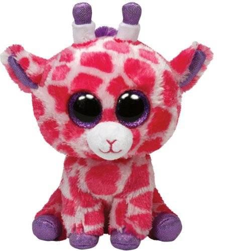 "Ty Beanie Boos, ""Twigs"", Giraffe pink/violett, 15cm"