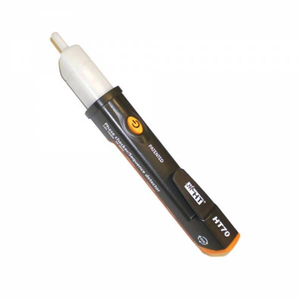 HT-Instruments HT70 Berührungsloser Spannungsprüfer bis 1000V AC, mit Drehfeldrichtungsermittlung