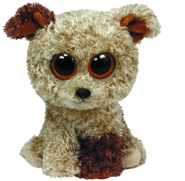 """Ty Beanie Boos, """"Rootbeer"""", Terrier, ca. 24cm"""